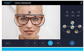 Eyestation Expert 5: prise de mesures