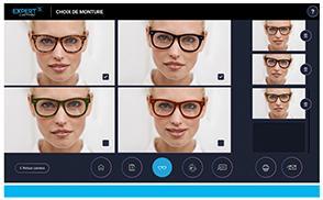 Eyestation Expert 5: Keuze monturen